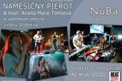 Náměsíčný pierot + Ariana Marie Tomsová + Nuba 11.12.2019