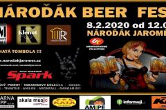 Nároďák Beerfest 8.2.2020
